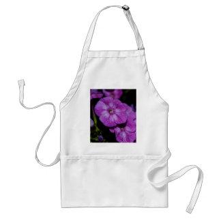 Garden Laura Phlox Flowers-007 Adult Apron