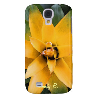 Garden leafy plant yellow leaves, samsung s4 case