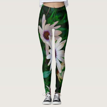 Beach Themed Garden Leggings