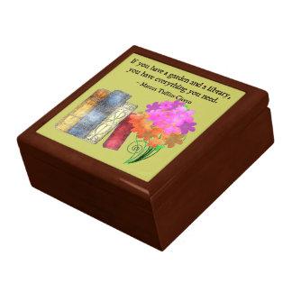 GARDEN & LIBRARY Keepsake Box