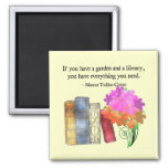GARDEN & LIBRARY MAGNETS