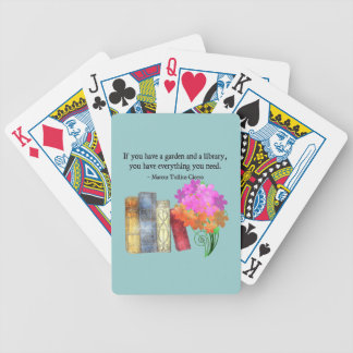GARDEN & LIBRARY Playing Cards Bicycle Playing Cards