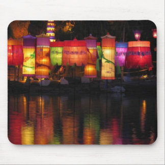 garden lights mouse pad