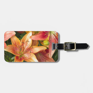 Garden Lilies Luggage Tag