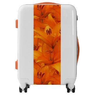 Garden Lilies Orange Flower Photo Luggage