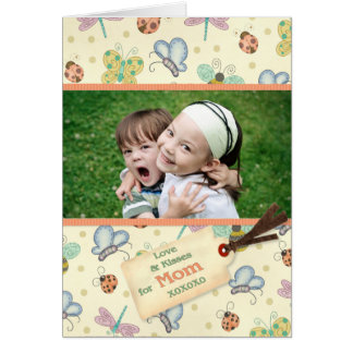 Garden Love for Mother's Day Greeting Card