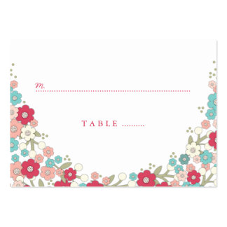 Garden Love Wreath Wedding Seating Place Cards