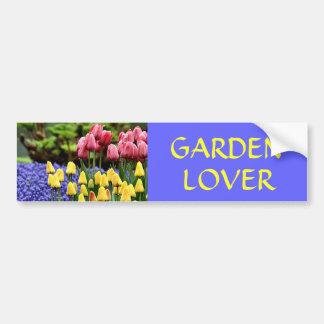 GARDEN  LOVER BUMPER STICKER