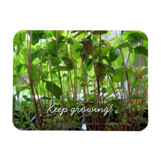 Garden Lover Keep Growing Plants Rectangular Photo Magnet