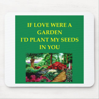 GARDEN lover Mouse Pads