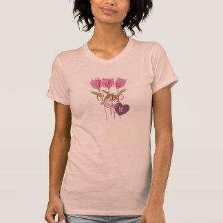 Garden Lover Pink Tulip Club Tee Shirt