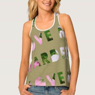 Garden Lover Text Design
