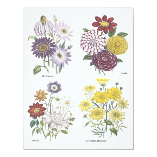 Garden Luncheon Card