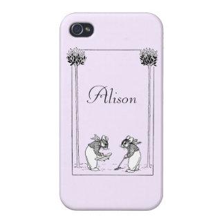 Garden Mice iPhone 4/4S Case