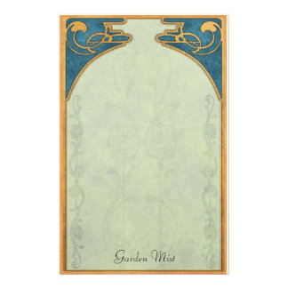 Garden Mist - Deco Stationery