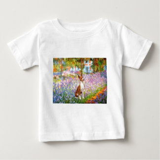 Garden (Monet) -Basenji Baby T-Shirt