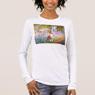 Garden (Monet) -Basenji Long Sleeve T-Shirt