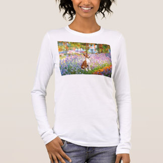 Garden (Monet) -Basenji Long Sleeve T-Shirt