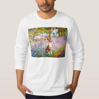 Garden (Monet) -Basenji T-Shirt