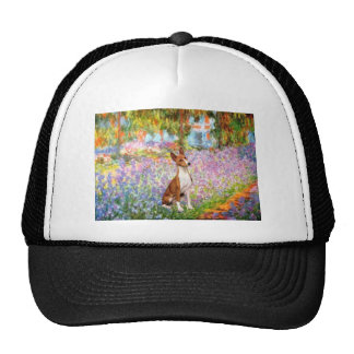Garden (Monet) -Basenji Trucker Hat