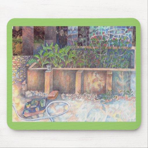 Garden mousepad