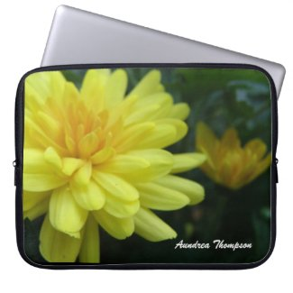 Garden Mum Laptop Sleeve electronicsbag