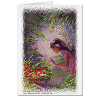 Garden Nymph Card