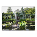 Garden Oasis Notecard Stationery Note Card