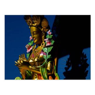 GARDEN OF 1000 BUDDHAS POSTCARD