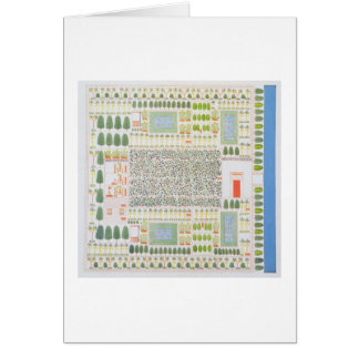 Garden of a High Ranking Egyptian Dignitary, from Card
