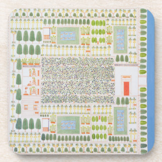 Garden of a High Ranking Egyptian Dignitary, from Drink Coaster