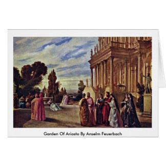 Garden Of Ariosto By Anselm Feuerbach Greeting Card