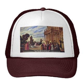 Garden Of Ariosto By Feuerbach Anselm Trucker Hat