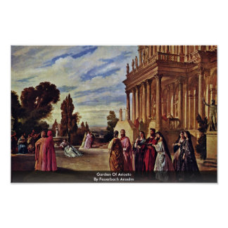 Garden Of Ariosto By Feuerbach Anselm Posters