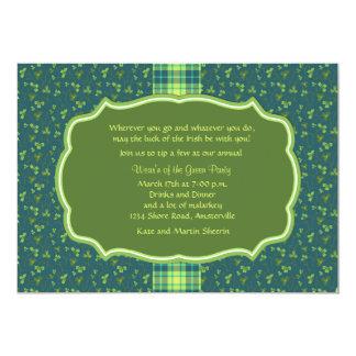 Garden of Clover Invitation