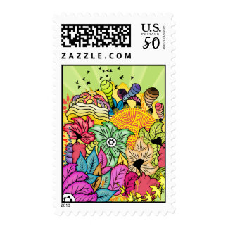 Garden of Colour Postage