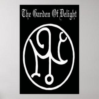 Garden Of Delight - Logo poster