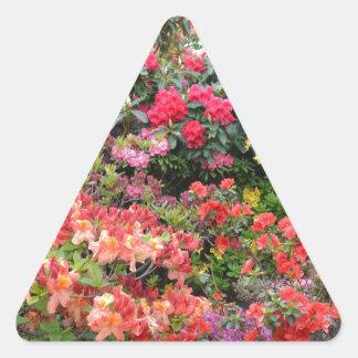 Garden of Delights Triangle Sticker