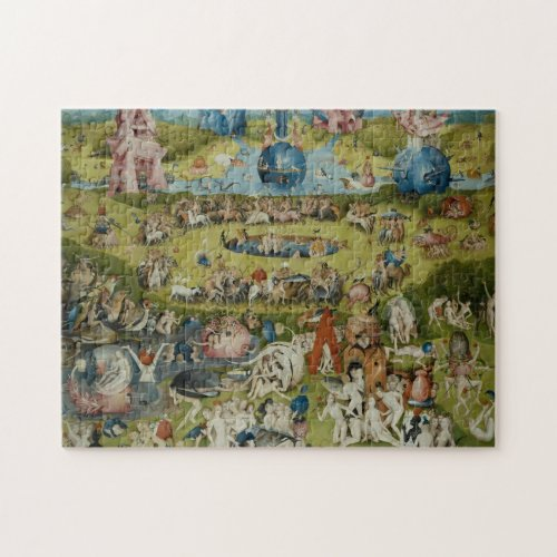 Garden of Earthly Delights 1490_1500 Jigsaw Puzzle