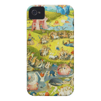 Garden of Earthy Delights -Enhanced - Bosch iPhone 4 Covers