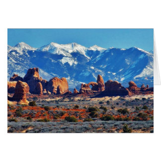 Garden Of Eden At Arches National Park Greeting Cards