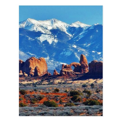 Garden Of Eden At Arches National Park Post Cards
