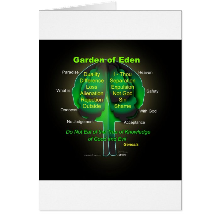 Garden of Eden Card