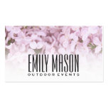 Garden of Eden | Exquisite Flowers, White Fade Double-Sided Standard Business Cards (Pack Of 100)