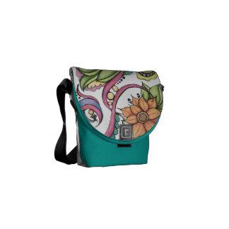 Garden of Eden Mini-Tote Courier Bag