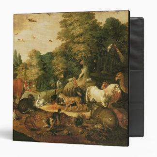 Garden of Eden (oil on canvas) Binder