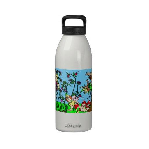 Garden of Faeries Drinking Bottles