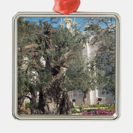 Garden Of Gethsemane Christmas Tree Ornaments