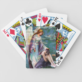 GARDEN OF GRIEF ~ MY ANGEL COMES TO ME.jpg Bicycle Playing Cards