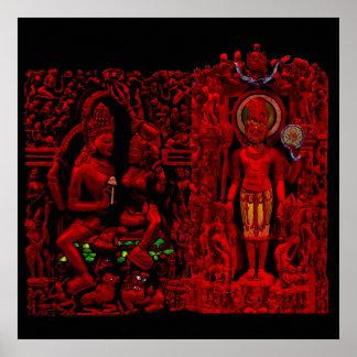 Garden of Heavenly Bodies Poster